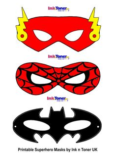 Printable Superhero Masks for Super Hero Day Batman Birthday, Superhero Birthday Party, Superhero Mask Template, Superman Mask, Super Hero Activities, Super Hero Day, Printable Masks, Free Printables, Kid Crafts