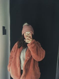 #tumblrgirl #outfits #phonecases Tumblr Girls, My Photos, Fur Coat, Winter Hats, Jackets, Outfits, Fashion, Down Jackets, Moda