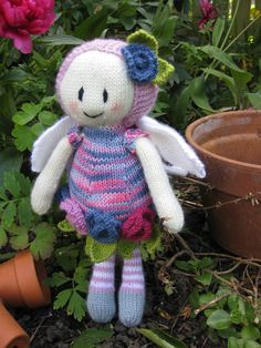 Ravelry: Rose Fairy Doll by Patons UK