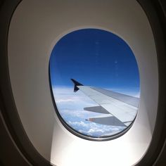 View from the window on a Singapore Airlines A380