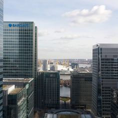 View from @canary___wharf over the east end of London @london @london.co.uk @barclays #london #barclays #02arena #londonlife #bank #city #life #instagood #sasphotography by official_sasphotography