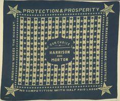 Harrison & Morton campaign bandana