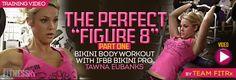 "The Perfect ""Figure 8″ Video Series– Part 1 Bikini body workout with IFBB Pro Tawna Eubanks"