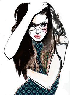 glasses - Sara Ligari