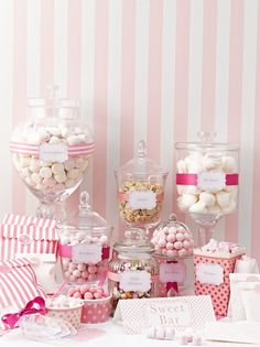 Talking Tables Pink-n-Mix Popcorn Style Treat Holders: Amazon.co.uk: Kitchen & Home