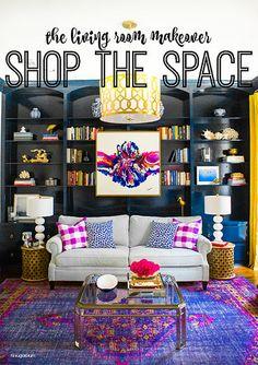 Hi Sugarplum   Living Room Makeover