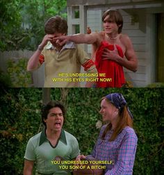 When Fez let out all his anger.
