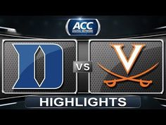 Virginia defeated Duke on Sunday to get its first ACC title since Malcolm Brogdon led the Cavaliers with 23 points and 3 rebounds. Basketball Videos, Men's Basketball, Rebounding, Duke Vs, Virginia, Highlights, Sports, Hs Sports, Excercise