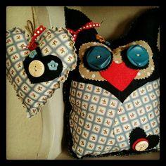 Handmade Owl & Heart