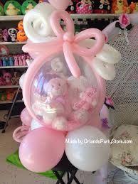 Regalo de globo relleno con osito para baby shower - Gift-filled balloon with teddy baby shower Balloon Arrangements, Balloon Centerpieces, Baby Shower Centerpieces, Balloon Decorations, Birthday Decorations, Baby Shower Decorations, Baby Decor, Baby Shower Balloons, Birthday Balloons