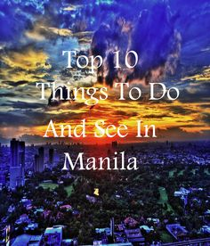 Stuck on what to do in Manila? Theculturetrip.com has the top 10 things to do when visiting this city. Head to our website for more details
