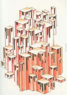 ARCHITECTURAL FANTASIES by Lakov Chernikhov (1925-1933)