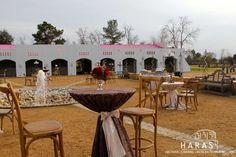 Set up on the Arena Wedding Venues Magnolia Texas