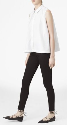 Maud Heline | Aron Sleeveless Top at 70% off http://shop.goop.com/collections/soldes-sale-saldos/products/aron-sleeveless-top