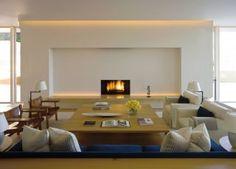 Modern Living Room by John Pawson Ltd. and John Pawson Ltd. in Los Angeles, California