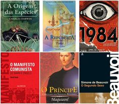 Os 20 livros mais influentes de todos os tempos