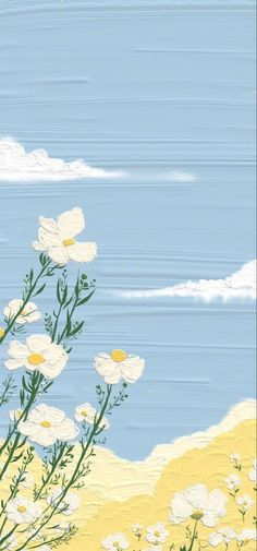 Cute Pastel Wallpaper, Flower Background Wallpaper, Soft Wallpaper, Cute Patterns Wallpaper, Painting Wallpaper, Aesthetic Pastel Wallpaper, Scenery Wallpaper, Kawaii Wallpaper, Tumblr Wallpaper