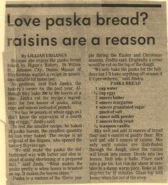 recipe: paska recipe with saffron [24]