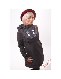 Černá dámská softshellová originální bunda Emilia 352e136867