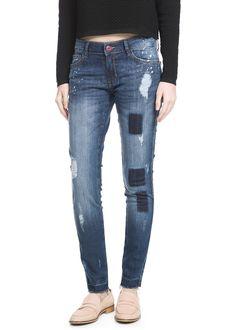 Super slim-fit Arizona jeans- MANGO