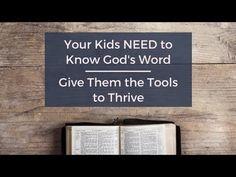 Kids NEED to Know God's Word - Ashley Varner