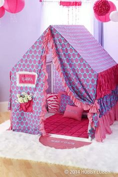 Super sewing projects for kids room play tents Ideas Toys For Girls, Gifts For Girls, Girl Room, Girls Bedroom, Kids Tents, Play Tents, Diy Tent, Pvc Projects, Sewing Projects