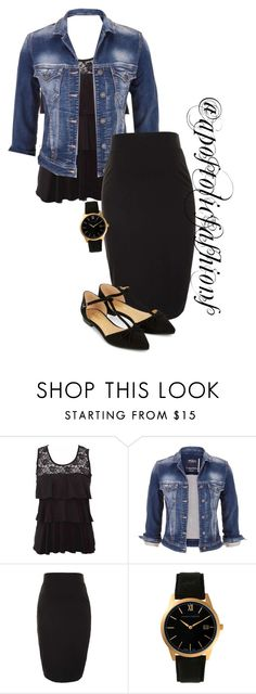 Apostolic Fashions #1222 by apostolicfashions on Polyvore featuring maurices, Topshop, Accessorize and Larsson & Jennings