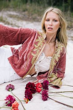 Queen of Hearts Velvet Jacket - Rose Gold Chasing Unicorns, Velvet Jacket, Queen Of Hearts, Bell Sleeves, Kimono Top, Sari, Rose Gold, Jackets, Collection