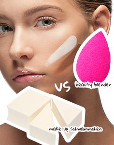Was ist der Unterschied zwischen Make-up Schwamm und Beauty Blender?