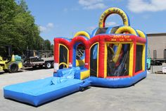 Rent-E-Quip's Wet or Dry Obstacle course