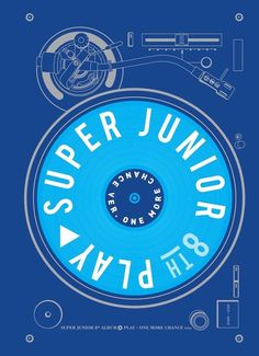 Super Junior Play 8th Album [One More Chance Ver] CD + Booklet + Card K-POP Seal