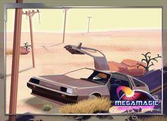 Megamagic: Wizards of the Neon Age (Beautifun Games)