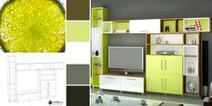 Alege pentru living-ul tău o culoare fresh și revitalizantă! 😀🥝 Mobiles, Miami, Living, The Unit, Entertaining, Furniture, Home Decor, Decoration Home, Room Decor