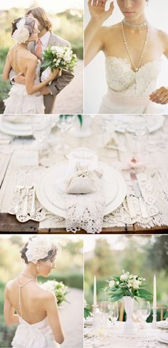 Love all the lace elements!