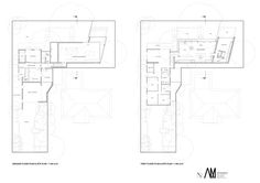 Camberwell House,Ground and First Floor Plan