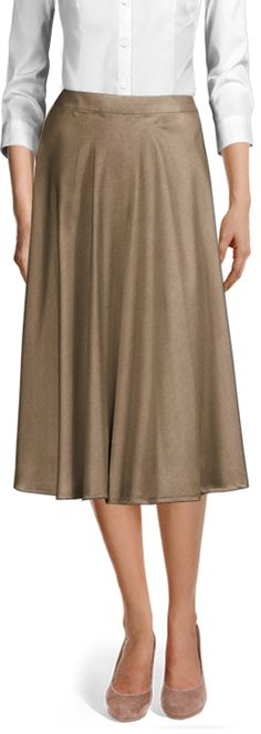 Midi skirts are the perfect addition to your Spring wardrobe ☀️ Made to YOUR measurements! Casual Skirts, Suits For Women, Perfect Fit, Midi Skirts, Shirt Dress, Female, Chic, My Style, Womens Fashion