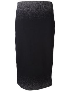 Lida Baday Ombre Pencil Skirt - Ruth Shaw - Farfetch.com Composition: Polyester 20%, Composition: Acrylic 40%, Composition: Wool 40%