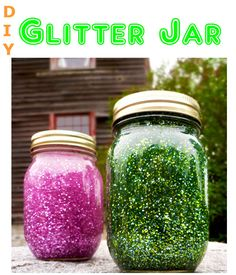 Diy glitter jar for a gift idea or home decoration. You can also use it for decoration in your office or a school project. Try and experience the fun of making DIY glitter jars.