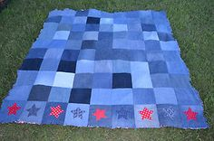 DIY 4th of July Quilt
