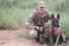 Bandit is a two-year old dog who works at Mkomazi National Park in Tanzania to help protect rhinos and elephants from poachers.