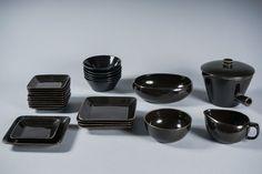 Varhaisia Kilta-astioita (1950-lukua), Kaj Franck, Arabia, Finland. Huutokauppa Helander Finland, Ceramics, Tableware, Glass, Kitchen, Design, Ceramica, Pottery, Dinnerware