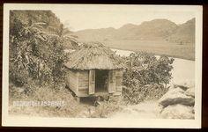 PUERTO RICO - Un Bohio near the River - 1910's. Straw Hut