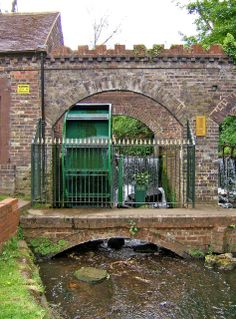 Water Wheel at Broadwaters Mill, Kidderminster