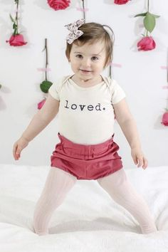 b9a33c9e2 Loved organic onesie, baby, boy, girl, unisex, gender neutral, infant