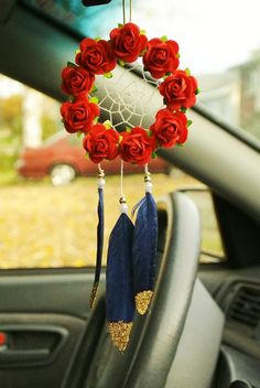 Nautical Dreamcatcher: Cute Car Dreamcatcher by SarahDycePaintings
