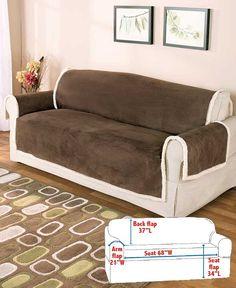 Microsuede & Sherpa Furniture Covers