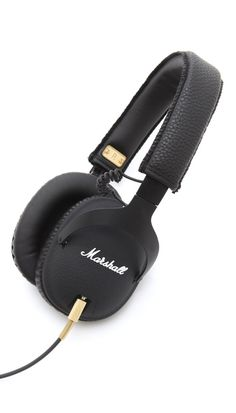 Gift Guide | E is for Ear Candy | Marshall Marshall Monitor Headphones