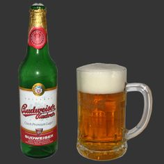 Czech Budweiser Budvar, unfortunately they have to sell it in the US as Czechvar, but its the same and really enjoyable