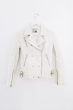 an ultimate biker jacket... from; Anine Bing... Italy