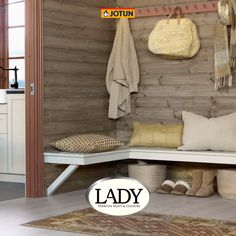 Microsoft Word, Style At Home, Bauhaus, By Lassen, Cottage Furniture, Cabin Interiors, Entryway Bench, Valance, Layout